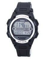Casio Illuminator World Time Digital W-756-1AV W756-1AV Men's Watch