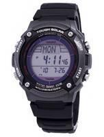 Casio Digital Tough Solar 5 Alarms Illuminator W-S200H-1BVDF WS200H-1BVDF Men's Watch