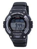 Casio Digital Tough Solar 5 Alarms W-S220-1AVDF WS220-1AVDF Men's Watch