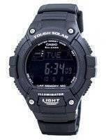 Casio Illuminator Tough Solar Lap Memory Alarm Digital W-S220-1BV WS220-1BV Men's Watch