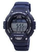 Casio Illuminator Tough Solar Lap Memory Alarm Digital W-S220-2AV WS220-2AV Men's Watch
