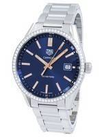 Tag Heuer Carrera Quartz Diamond Accents WAR1114.BA0601 Women's Watch