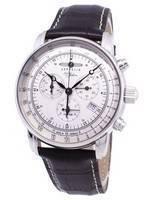Zeppelin 100 anos ED.1 Alemanha feita relógio 7680-1 76801 masculino