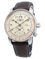 Relógio Zeppelin LZ126 Los Angeles 8644-5 86445 Pulsometer de quartzo para homem