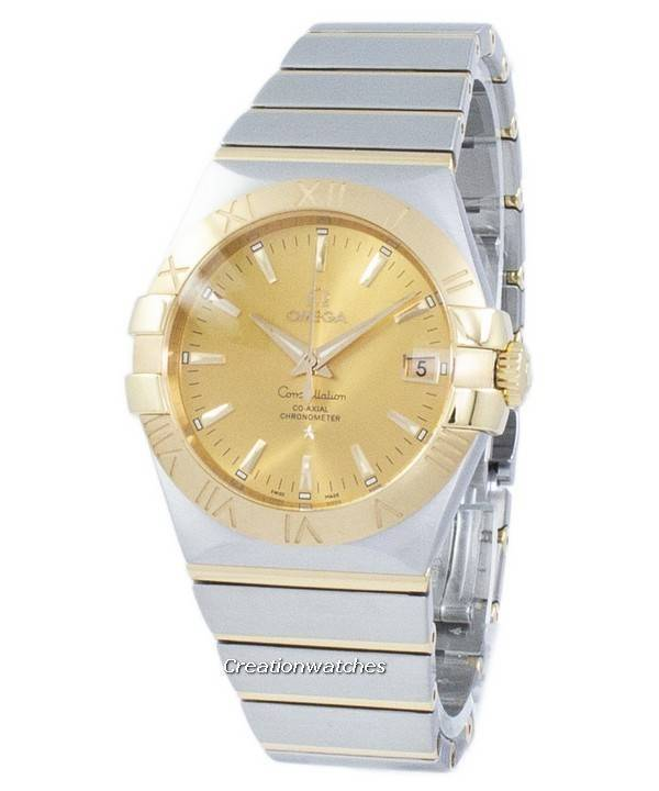 8cf4663264e Omega Constellation Co-Axial kronometer automatiske 123.20.35.20.08.001  Herreur