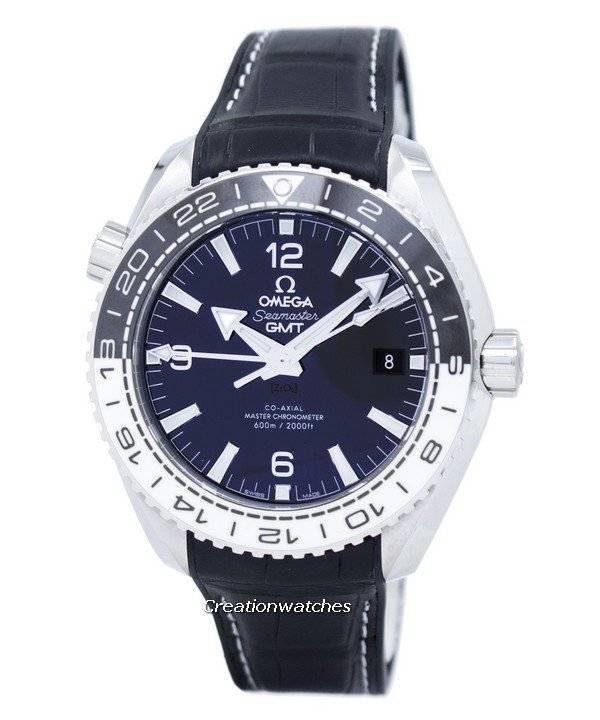 8a9e690f532 Relógio Omega Seamaster Planet Ocean 600m Mater Co-Axial Chronometer  215.33.44.22.01.001