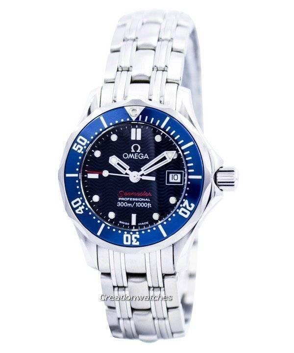30443ee47b5 Relógio Omega Seamaster Professional Diver 300m quartzo 2224.80.00 feminino