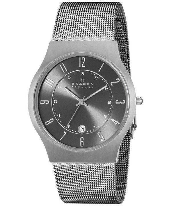 0ec9673c5723a Relógio Skagen Gunmetal