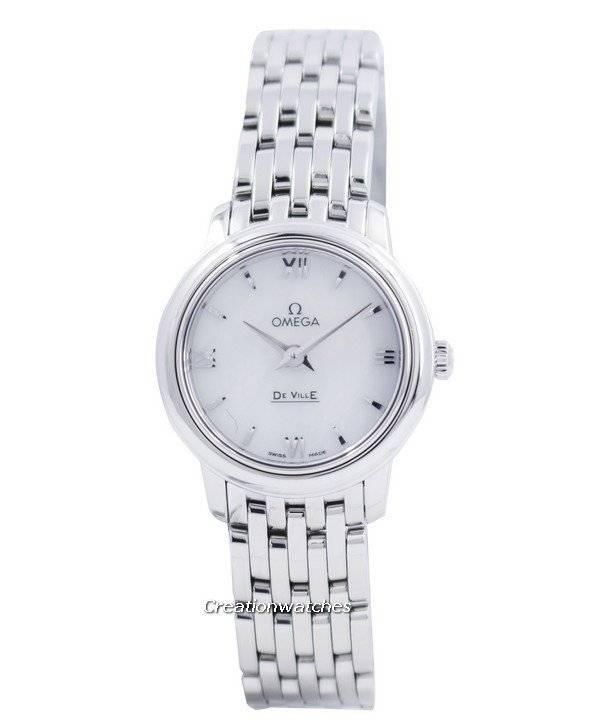 d8decab9322 Relógio Omega De Ville Prestige quartzo 424.10.24.60.05.001 feminino pt