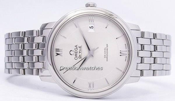 7a6292cef96 Relógio Omega De Ville Prestige Co-Axial Chronometer 424.10.37.20.02.001  masculino