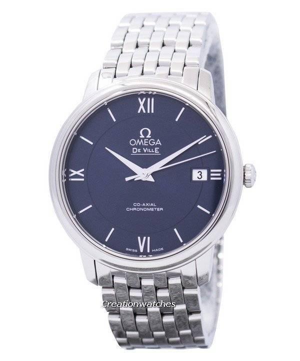 1485a839541 Relógio Omega De Ville Prestige Co-Axial Chronometer 424.10.37.20.03.001  masculino