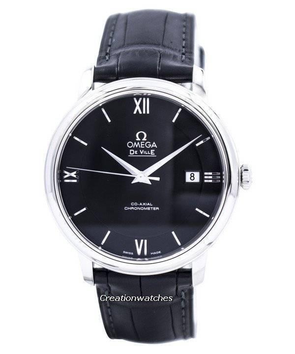 7c2b7c1b083 Relógio Omega De Ville Prestige Co-Axial Chronometer 424.13.40.20.01.001  masculino
