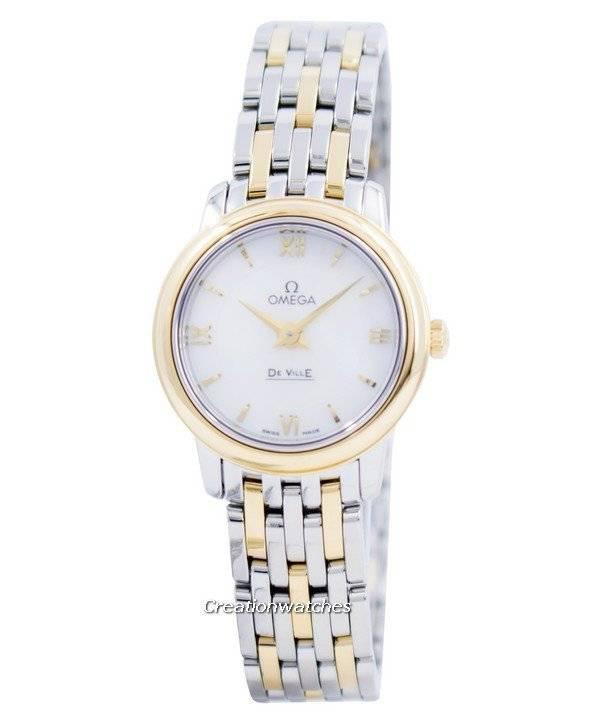 70d9e1b1308 Relógio Omega De Ville Prestige quartzo 424.20.24.60.05.001 feminino pt