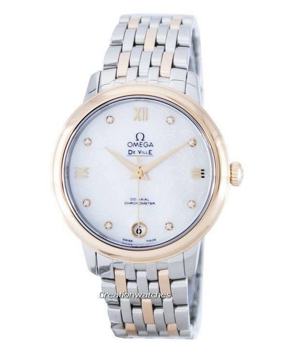 f74ee161feb Relógio Omega DeVille prestígio Co-Axial