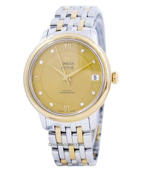c350c6a173a Relógio Omega De Ville Prestige Co-Axial Chronometer 424.20.33.20.58.001  feminino