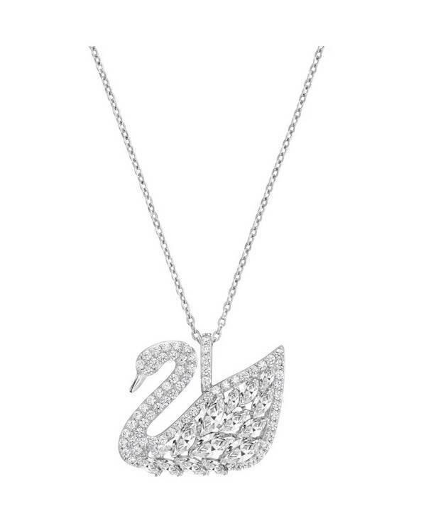 Riipus kaulakoru Punto Luce 14 kristalli - 45 cm serpe ketju