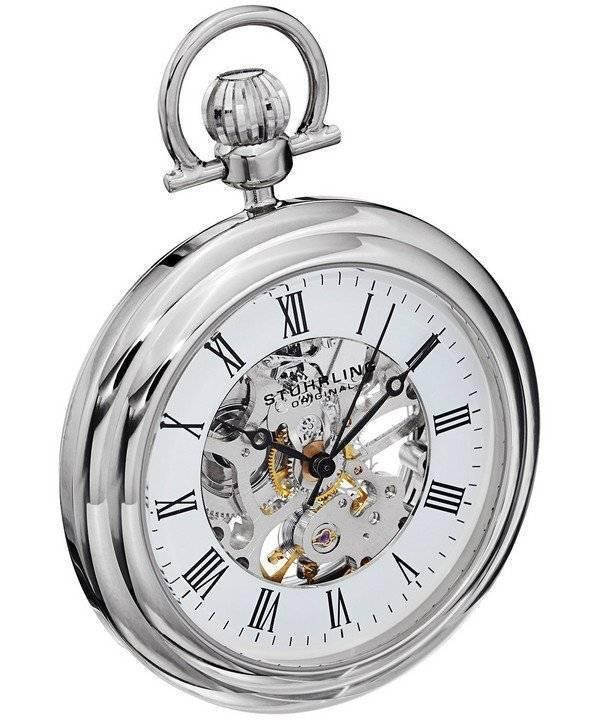 auténtico ahorre hasta 80% venta limitada Stuhrling Original Vintage automático 6053.33113 reloj de bolsillo