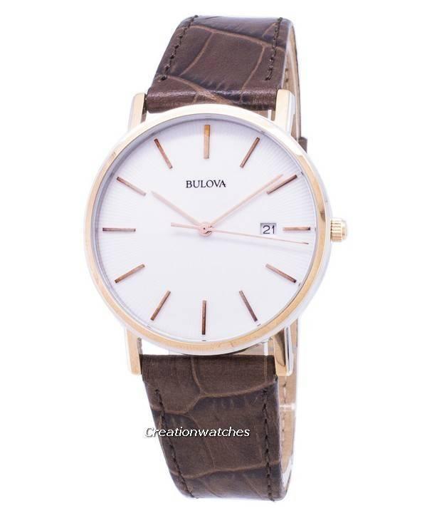 1fcffa5d8495 Bulova Classic 98 H 51 cuarzo de reloj Men es