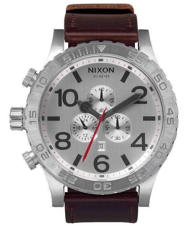 19473257fe1 Relógio Nixon 51-30 Chrono quartzo A124-1113-00 masculino pt