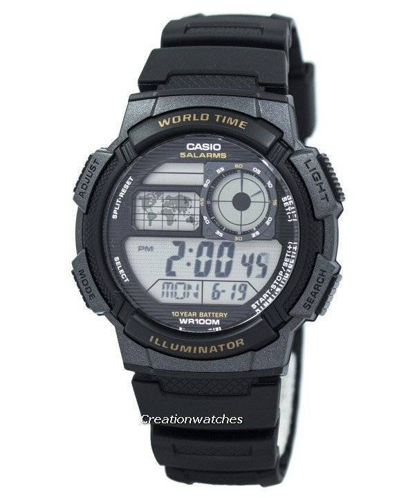 f927c9c4bf04 Reloj Casio Youth Digital Time Time AE-1000W-1AV para hombre AE1000W-1AV