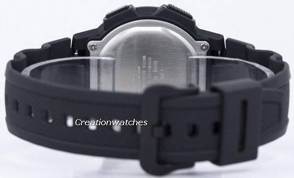 10b780ce301 Relógio Casio juventude iluminador mundo hora mundial mapa AE-1100W-1BV  AE1100W-1BV