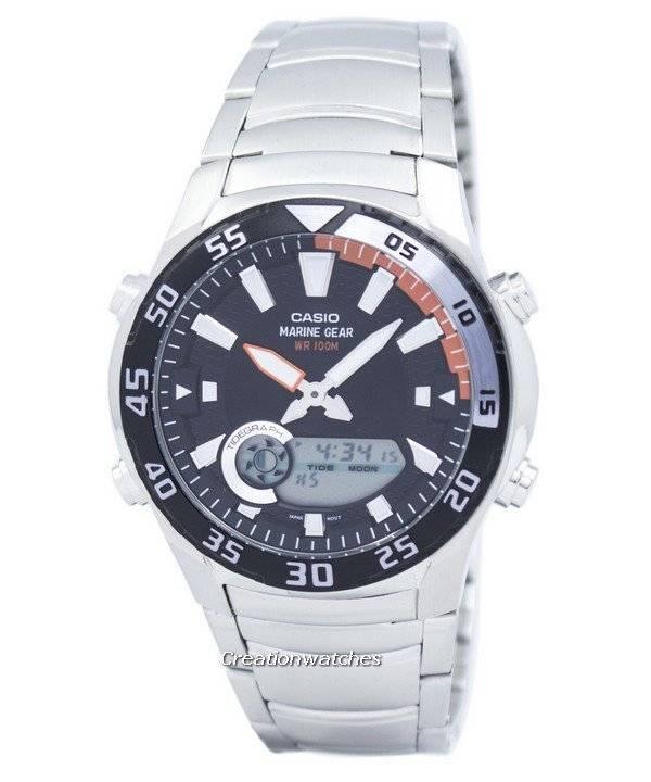 b0eb343e71be Casio Analog Digital Marine Gear AMW-710D-1AVDF AMW-710D-1AV Men s Watch