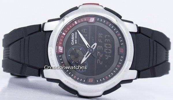 ee1def2120b Orologio Casio analogico digitale termometro AQF-102W-1BVDF AQF-102W-1BV  maschile