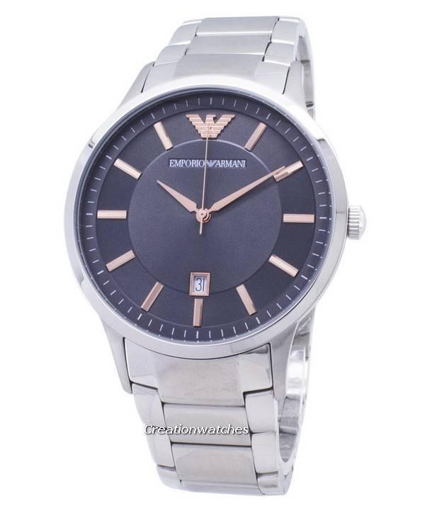 cba8c2acb98 Relógio Emporio Armani Renato quartzo AR2514 masculino pt