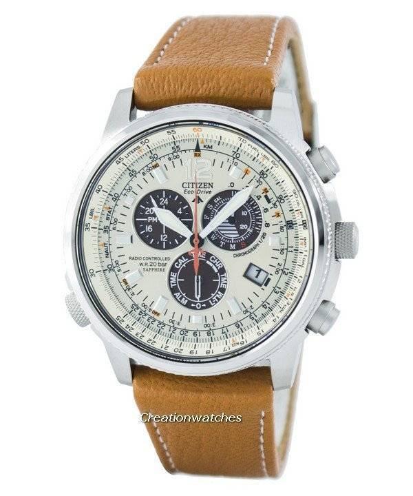 Herrenuhr As4020 Sky Drive Citizen Eco Funk Chronograph 44b Promaster Pilot YfgyvmI76b
