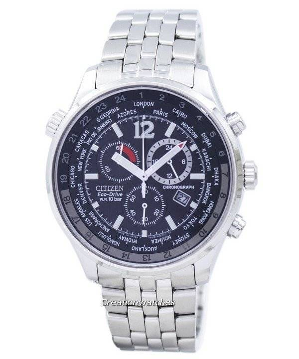 f93c354e368 Citizen Eco Drive Men s Chronograph World Time AT0360-50E AT0360