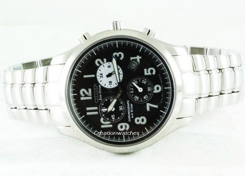 Citizen Eco Drive Chronograph AT0370-56E Mens Watch - Click Image to Close