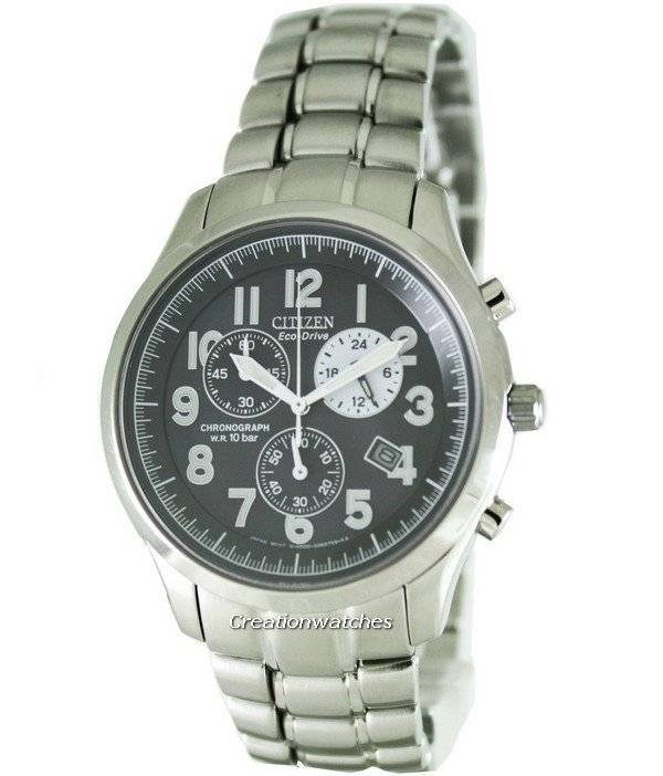 Citizen Eco Drive Chronograph AT0370-56E Mens Watch - Click Image to Close