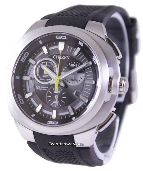 370b997d4ba Relógio Citizen Eco-Drive Chronograph Titanium Super AT2025-02E AT2025  masculino
