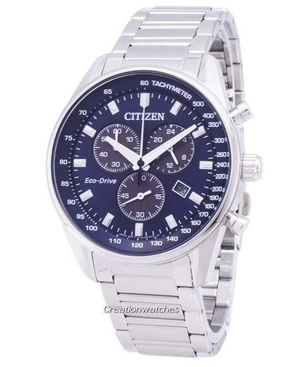 nuovo concetto 22666 3659e Orologio da uomo cronografo Citizen Eco-Drive AT2390-82L