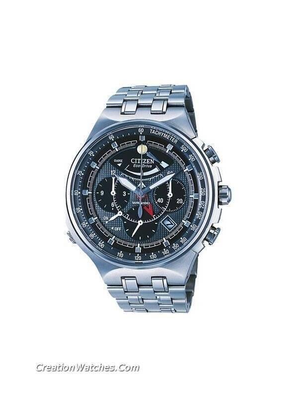 f91eff9f1b4 Relógio Citizen Promaster Titanium Eco-Drive cronógrafo AV0020 - 55h AV0020  masculino
