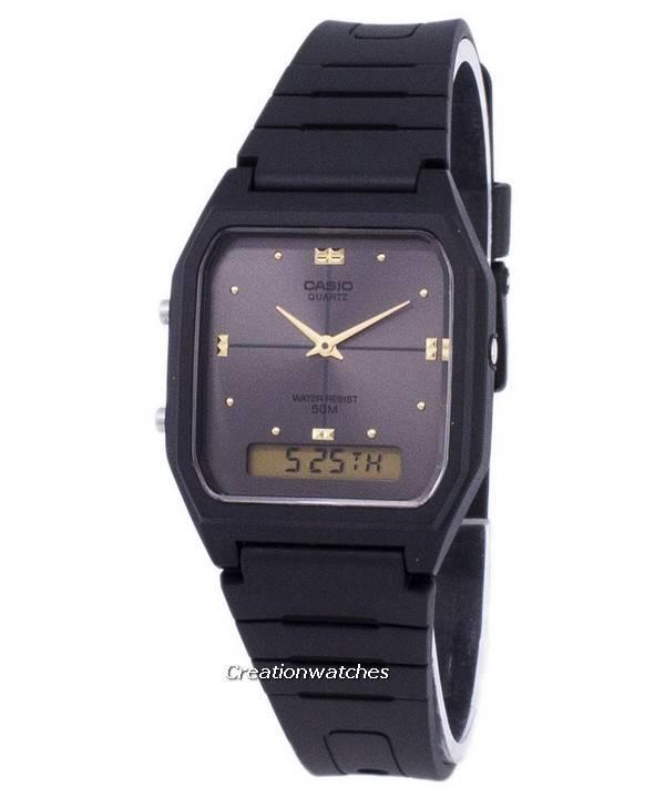 e358e4cec46 Relógio Casio Analógico Digital quartzo hora Dual AW-48HE-8AVDF AW-48HE-