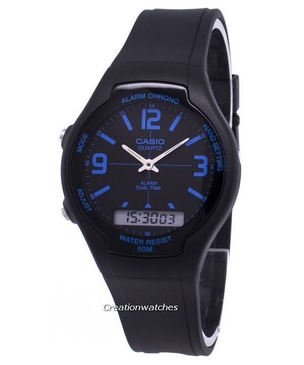f0f8b18e5fc Casio Analog Digital Dual Time AW-90H-2BVDF AW90H-2BVDF Men s Watch