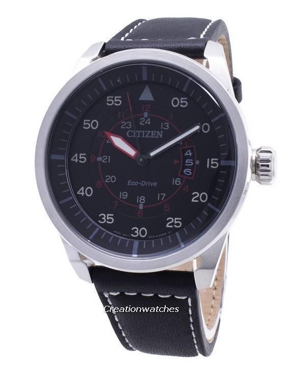 8c0568f36 Citizen Eco-Drive Aviator Power Reserve AW1360-04E Men's Watch