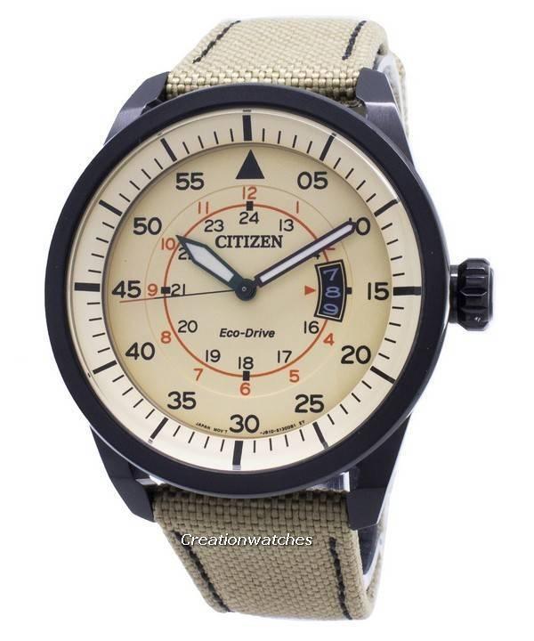 Citizen Eco-Drive Aviator Power Reserve AW1365-19P Men s Watch 2d926535a917