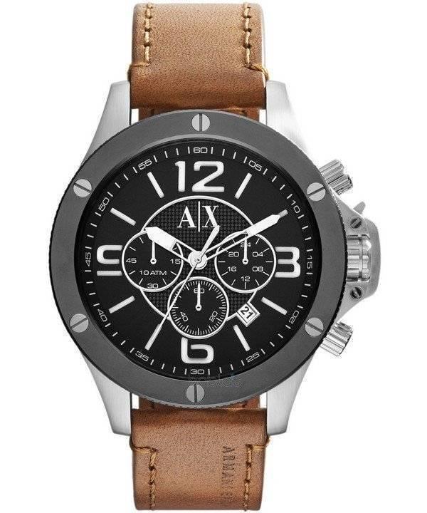 2dedf0a02a07 Reloj de hombre Armani Exchange Chronograph Black Dial AX1509