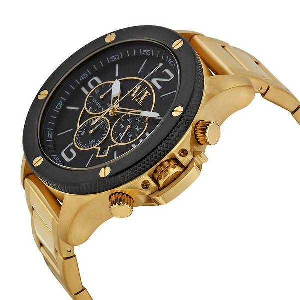 71b39da9da01 Reloj de hombre Armani Exchange Quartz Chronograph Gold Tone AX1511