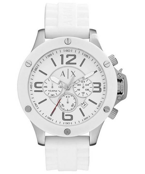 8d6db72d3b Armani Exchange Wellworn Chronographe Quartz AX1525 montre homme fr
