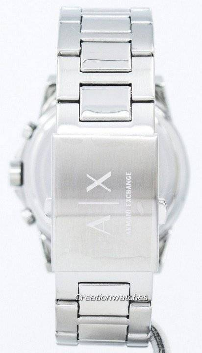 e143feff0340 Armani Exchange Cronógrafo Dial de plata-tono AX2058 Watch de Men es