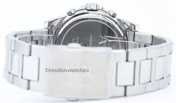 daeda8917c92 Armani Exchange Chronograph Silver-Tone Dial AX2058 Men s Watch