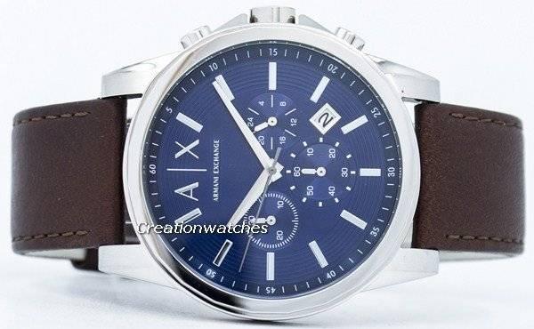 Armani Exchange Quartz Chronograph Blue Dial AX2501 Men s Watch ff4c02ea29571