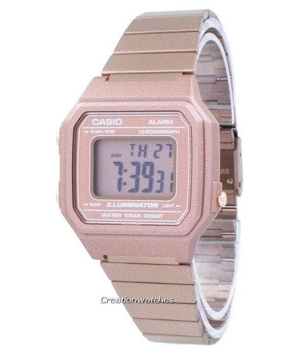 501a1cbd5933 Casio Vintage Illuminator Chronograph Alarm Digital B650WC-5A ...
