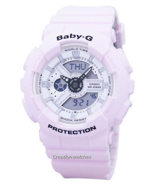 4c0a33796d49 Reloj Casio Baby-G a prueba de golpes mundial tiempo Analógico ...