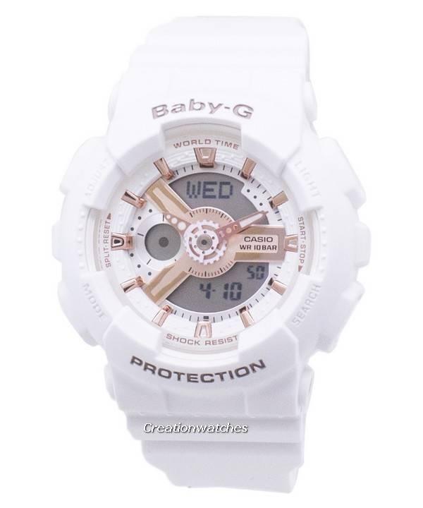 f635bf30acac Reloj Casio Baby-G BA-110RG-7A BA110RG-7A mundial tiempo a prueba de ...