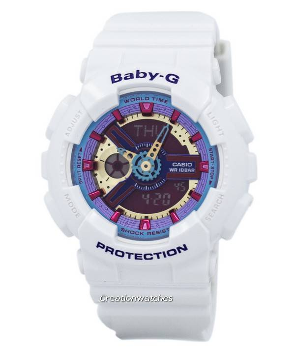 Casio Baby-G Analog Digital Multi-Color Dial BA-112-7A Women s Watch 5d86e00aca33