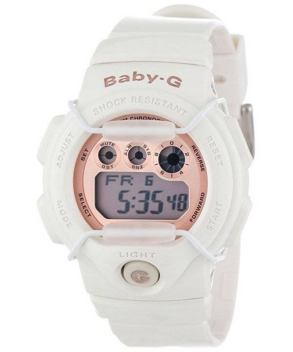 4030fa55417b Casio Baby-G Digital Ivory Rose Gold BG-1005A-7 Women s Watch
